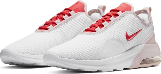 Nike Air Max Motion 2 Dames Sneakers - White/track Red-barely Rose