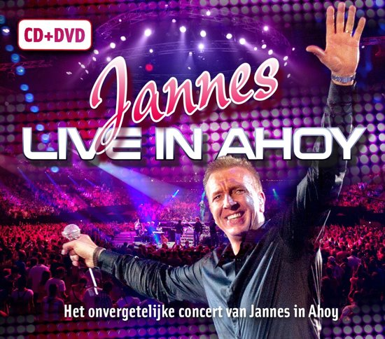 CD cover van Live In Ahoy van Jannes