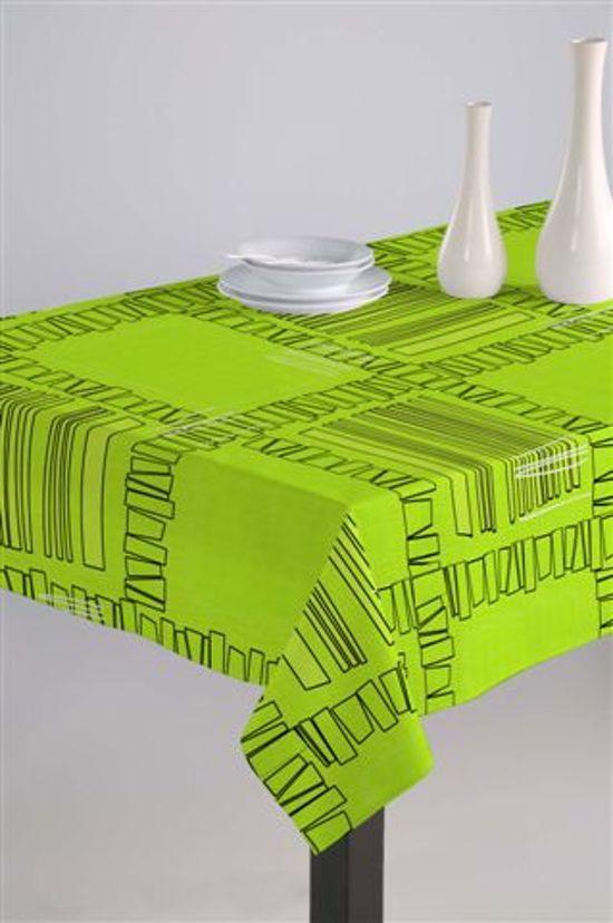 Luxe Stoffen Tafellaken - Tafelkleed - Tafelzeil - Artemis Groen - 140cm x 180cm