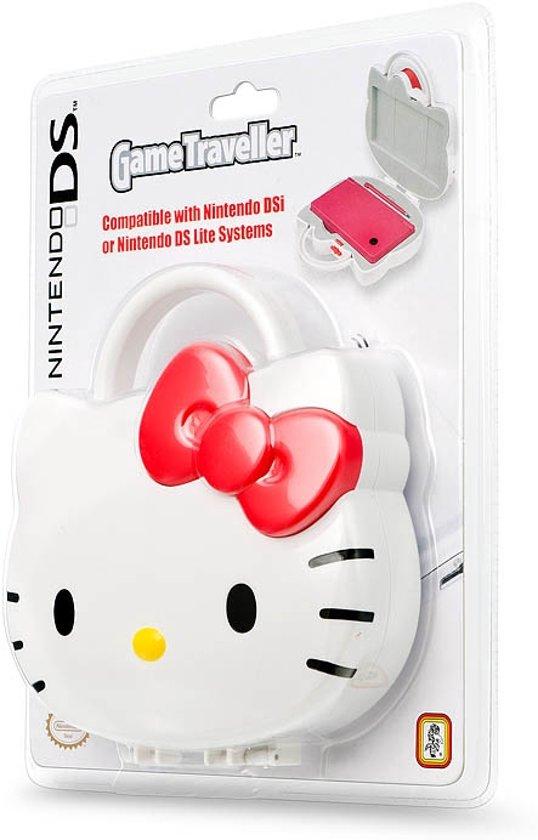Bigben Hello Kitty Bescherm- + Opbergkoffertje Wit 3DS + DSi + DS Lite