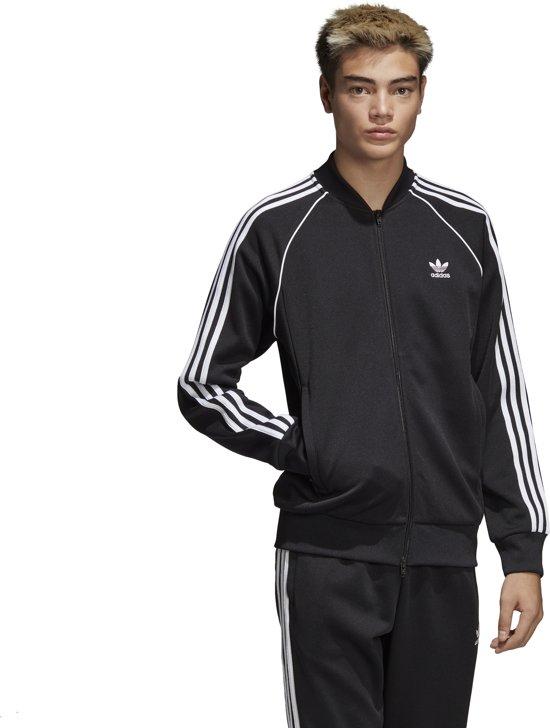 adidas SST TT Heren Sportjas Black Maat XL