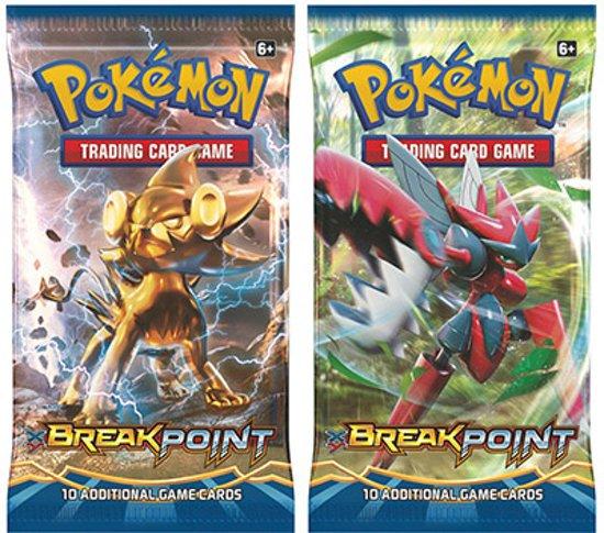 Afbeelding van het spel 2 pakjes Pokemon Kaarten Break Point Boosterbox