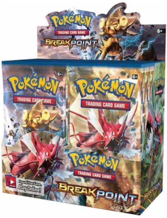 Thumbnail van een extra afbeelding van het spel 2 pakjes Pokemon Kaarten Break Point Boosterbox