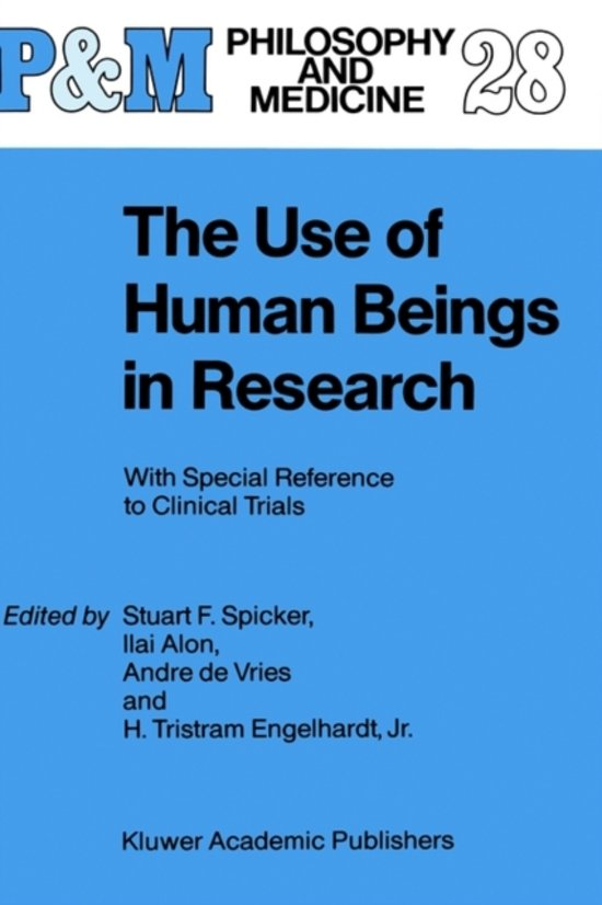 the ethics and safety of medical experimentation on humans 12 medical research involving human subjects must be conducted only by individuals with the appropriate ethics and scientific education, training and qualifications this intervention should subsequently be made the object of research, designed to evaluate its safety and efficacy.