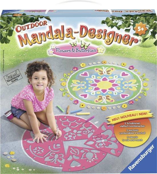 Ravensburger Outdoor Mandala Designer® Flowers & Butterflies