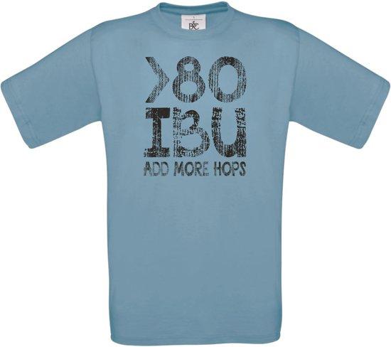 80 IBU heren blauw XL