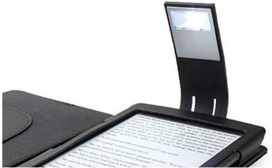 Universeel LED Leeslampje met verstelbare voet, zwart , merk i12Cover