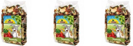 JR Farm - Ratatouille - 100g - Verpakt per 3 - Knaagdierensnack
