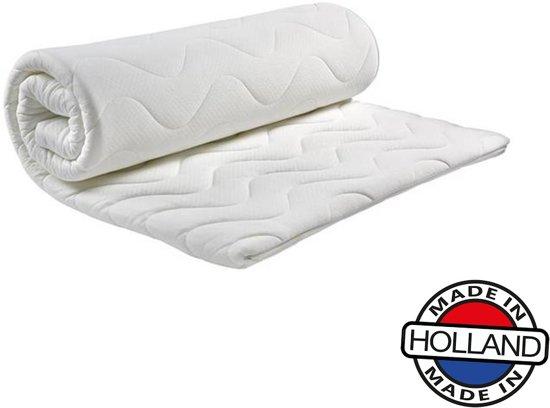 Comfort HR40 Koudschuim Topdekmatras -140x200x5cm- Anti-allergische wasbare Aloë Vera hoes met rits.