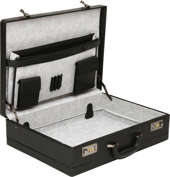 7f8d2f464b6 bol.com | Tassia Grote Attachékoffer - 35.6 x 48.2 x 13.5 cm - Zwart ...