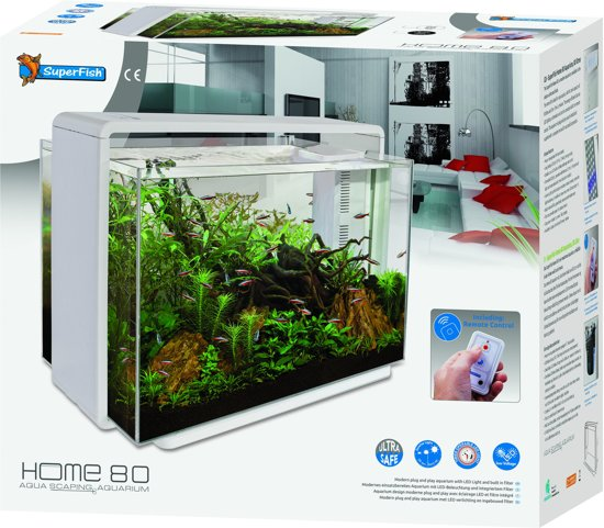 bol com   SuperFish Home 80 Aquarium Wit