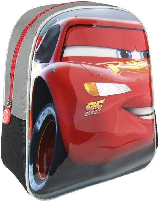 2e68e691691 bol.com | Grijze Disney Cars Lightning McQueen 3D rugtas voor kinderen