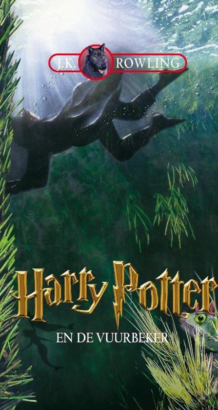 Cover van het boek 'Harry Potter 004 en de vuurbeker luisterb 16 CD' van J.K. Rowling