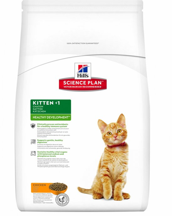 Hill's Science Plan Feline Healthy Development - Kitten - Kip - Kattenvoer - 5 kg