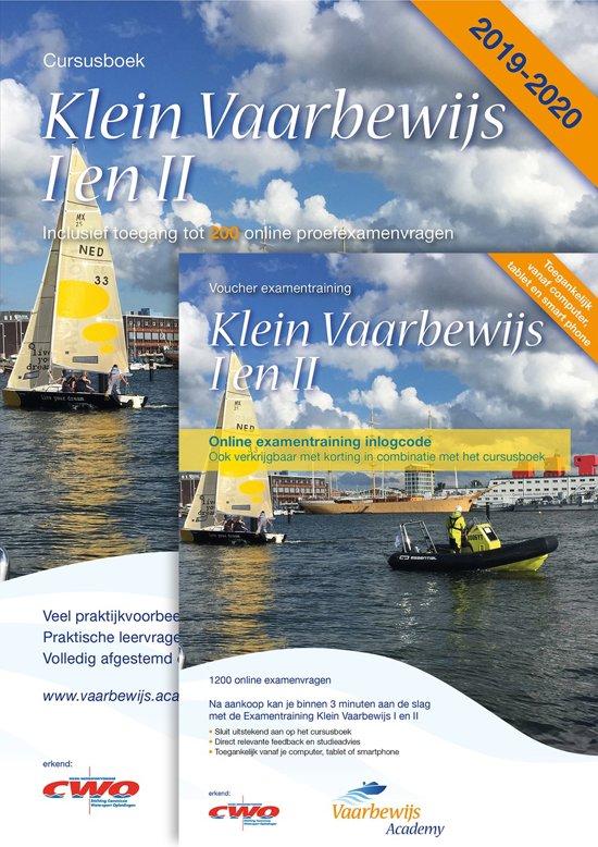Klein Vaarbewijs I en II 2019-2020 Cursusboek + Online examentraining