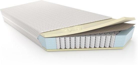 Traagschuim Matras 160 x 200 cm - Nasa Schuim Technologie - 7 zones