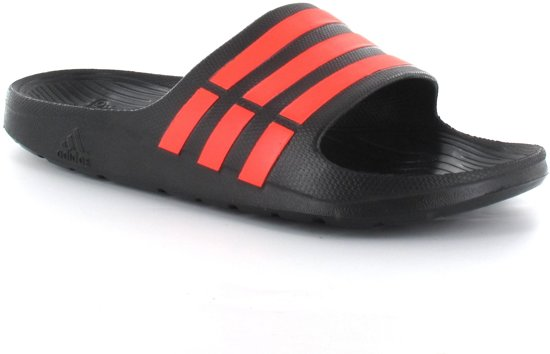 new product 734c0 9b549 adidas Duramo Slide - Slippers - Heren - Maat 40,5 - Zwart