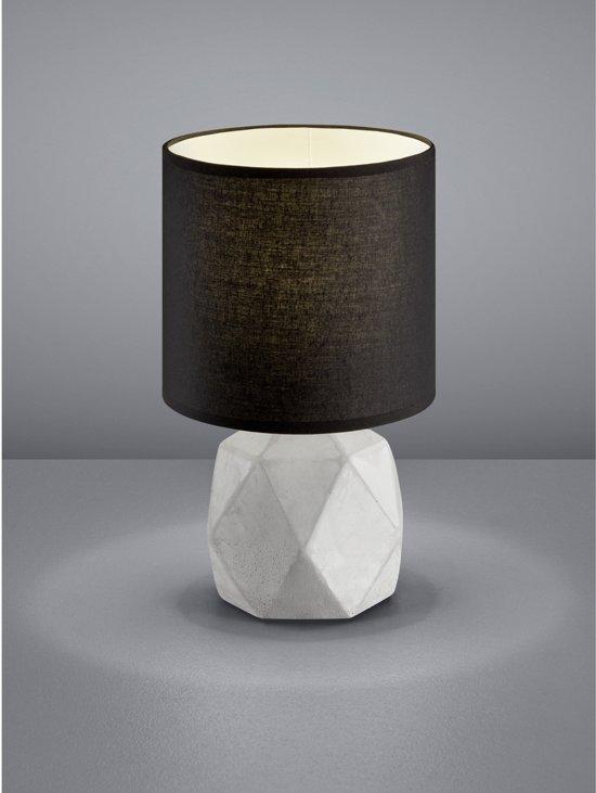 bol reality pike tafellamp zonder lichtbron zwart
