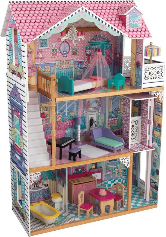Kidkraft annabelle poppenhuis kidkraft speelgoed for Poppenhuis te koop