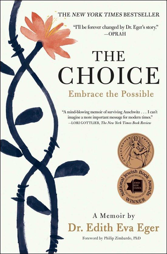 Boekomslag voor The Choice
