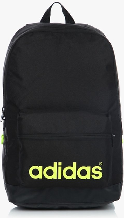 197674e5fee bol.com | Heren rugzak | Adidas neo bp daily | Black /Lime