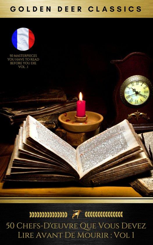 Boek cover 50 Chefs-Dœuvre Que Vous Devez Lire Avant De Mourir : Vol 1 (Golden Deer Classics) van Mark Twain (Onbekend)