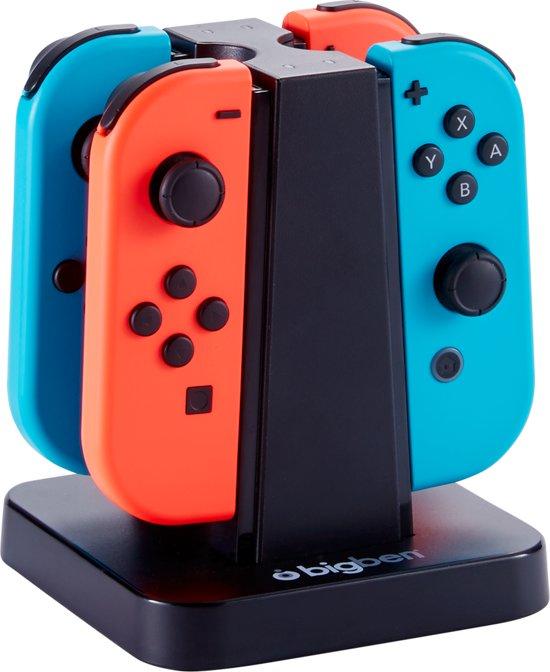 Bigben - Quad Charger 4 Joy-Con - Nintendo Switch