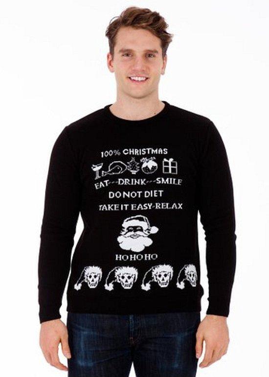 Foute Kersttrui Tekst.Bol Com Kersttrui Evil Christmas Voor Heren Xl Foute Kersttruien