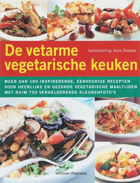 Cover van het boek 'De vetarme vegetarische keuken'