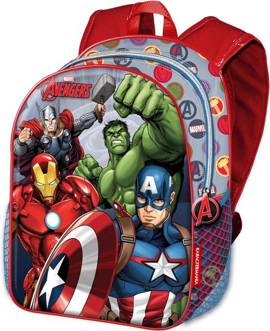 Avengers jongens rugtas - schoolrugzak A4 schoolmap formaat Force