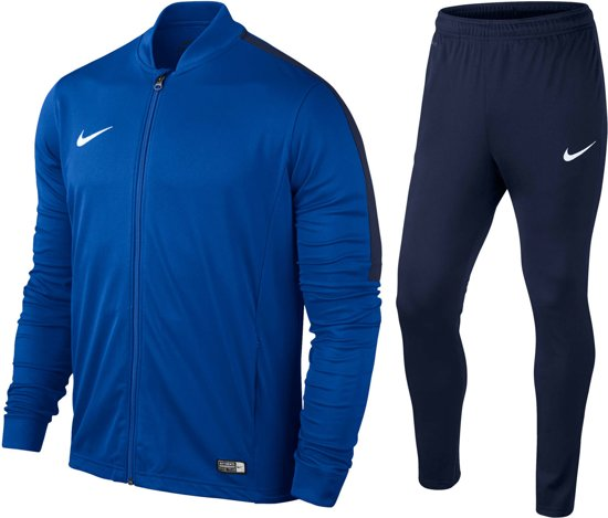 0b837cb4768 Nike Academy 16 Knit Trainingspak - Junior - Blauw - Maat 140
