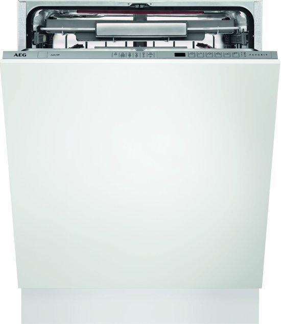Zelf Inbouwen Vaatwasser.Aeg Fss62800p Comfortlift Proclean Inbouw Vaatwasser