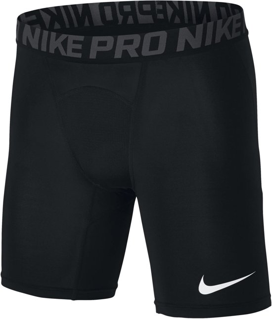 Nike Pro Short Sportbroek Heren - Black/Anthracite/(White) - Maat L