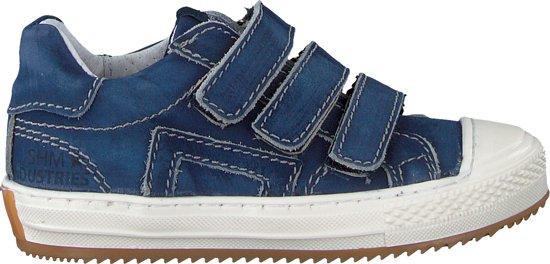 Shoesme Jongens Sneakers Om9s074 Blauw Maat 29