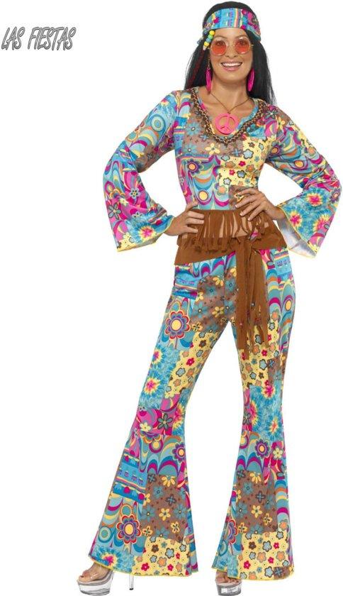 b048eccf9ad562 Hippy Flower Power kostuum - Hippie verkleedkleding dames maat 36-38