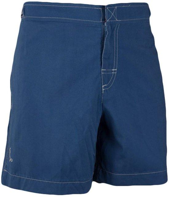 Ramatuelle  Zwembroek Heren Fitted -  Cap Martinez blauw kobalt   - Maat L