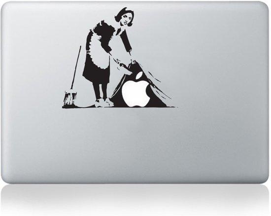 "Banksy maid small MacBook 13"" skin sticker"
