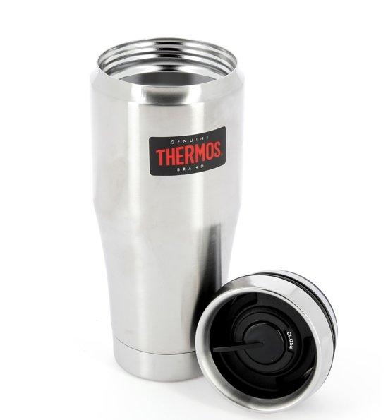 Thermos Heritage Klaas zilver thermosbeker