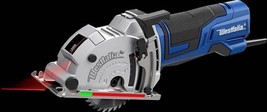Westfalia Invalcirkelzaag TSM85 600 W