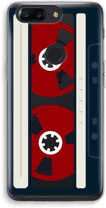 OnePlus 5T Transparant Hoesje (Soft) - Here's your tape