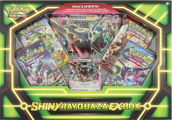 Afbeelding van het spel Pokemon Kaarten TCG - Shiny Rayquaza EX Box