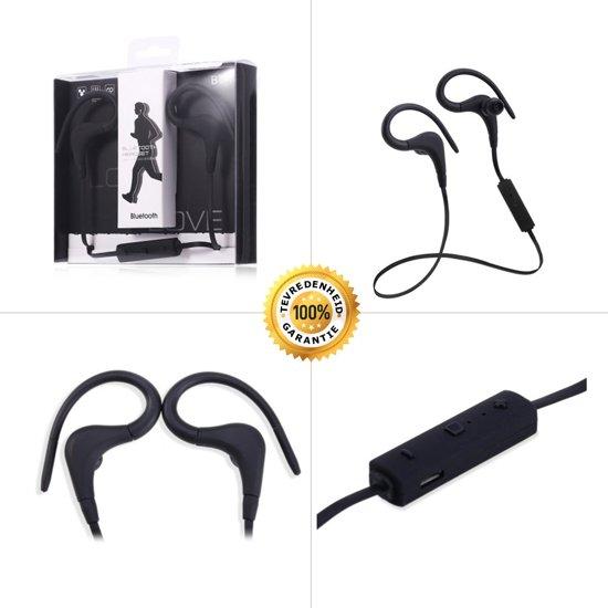 Draadloze In-Ear Oordopjes Bluetooth 4.1 Headset   Sport Headset   Wireless Oortjes   Draadloos Telefoneren en Muziek Luisteren   Zwart in Planketent