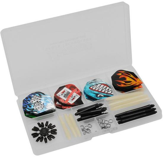 Dragon - ULTRA DARTS ACCESSOIRES SET - 67 pieces Complete Steeltip Giftset - dartpijlen - giftset