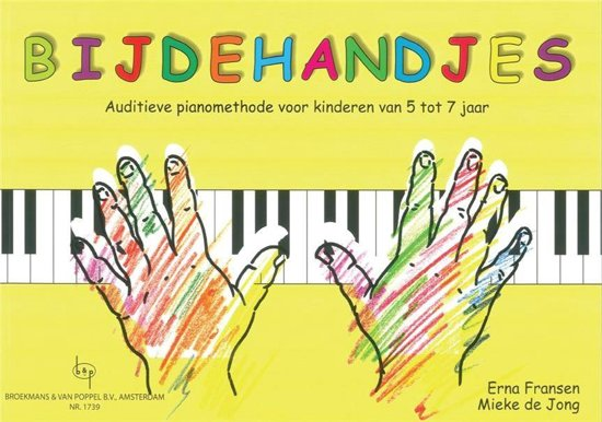 Bijdehandjes   Auditieve pianomethode   Deel 1