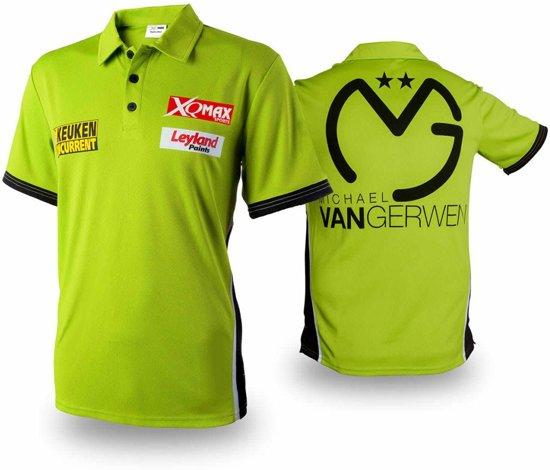 Michael van Gerwen Wedstrijd Dartshirt Polo Size: M