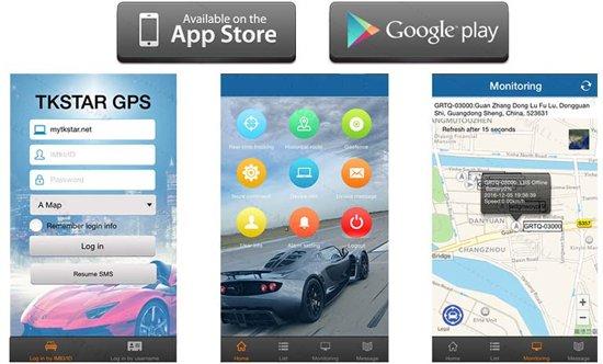 GPS Tracker - TKSTAR 905 met gratis app!