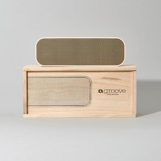 Kreafunk aGROOVE Portable Bluetooth Speaker