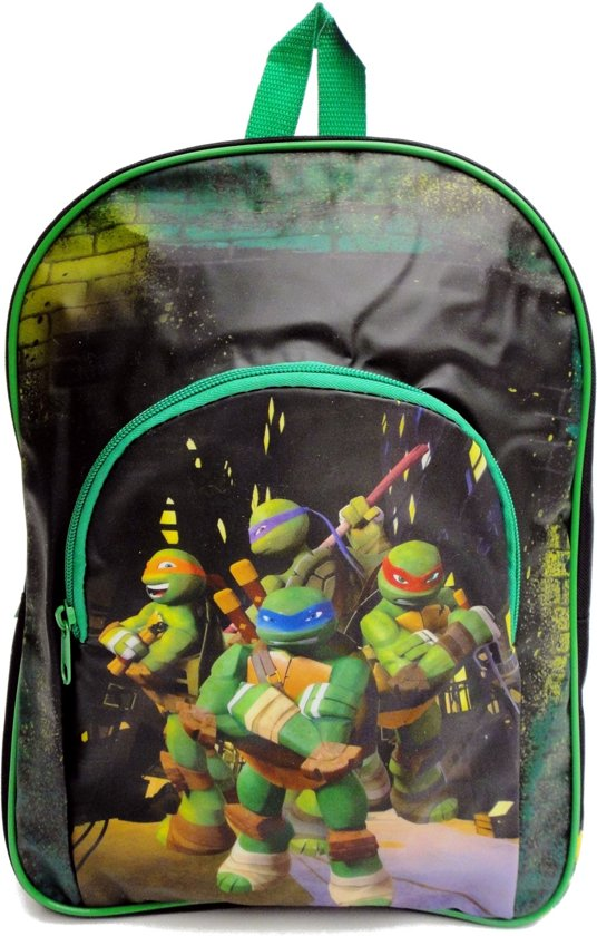 b85cd3cf529 Nickelodeon Teenage Mutant Ninja Turtles - Rugzak - Kinderen - Groen