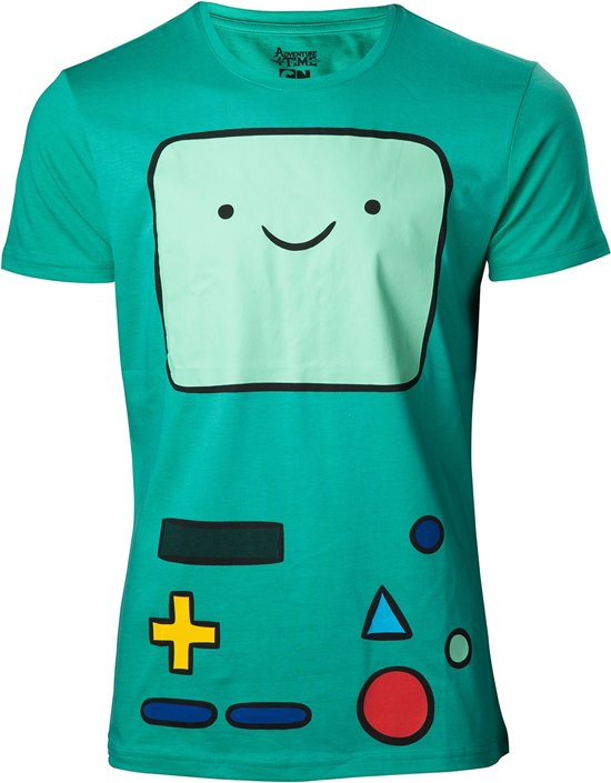 Adventure Time - Beemo Green T-Shirt - 2XL