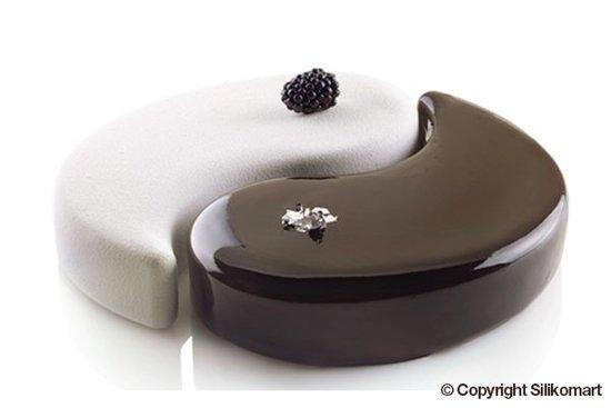 "Bavaroise / bakvorm ""Yin Yang 2500"" Tortaflex Siliconen"